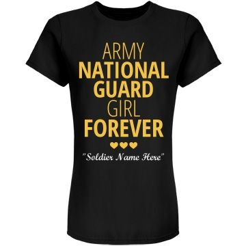 National Guard Girl   Create really cute military love designs to show your love…