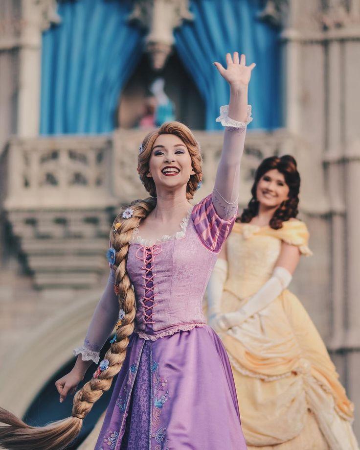 Rapunzel and Belle
