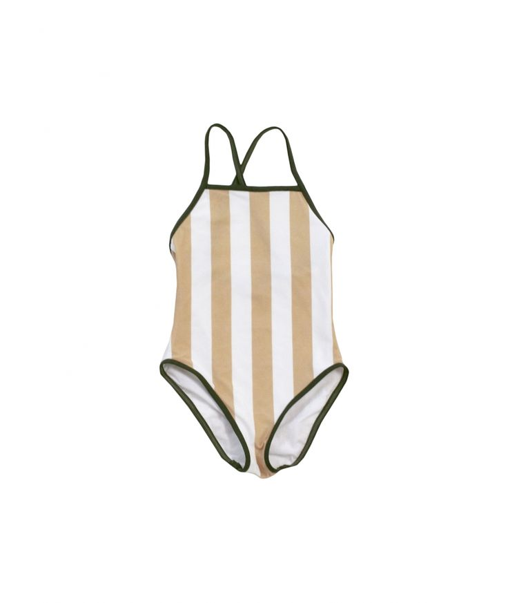 Tiny Cottons Swimsuit Stripes white