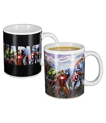 Marvel Avengers Heat Change Mug (Multicoloured)