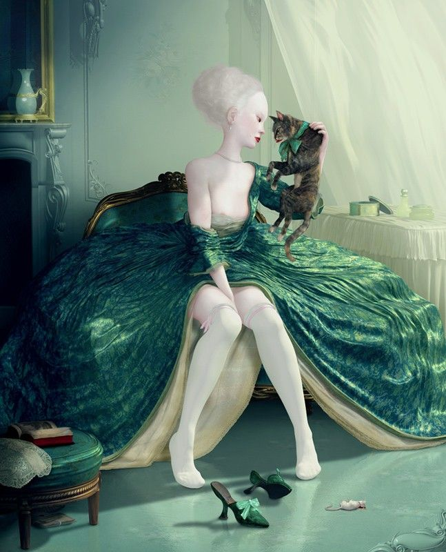 Honestly, how can anyone's jaw not drop at seeing The French Kiss by Ray Caesar? It's beautiful and uncomfortable and amazing all at the same time. #SpringtimeinParis #MissKL