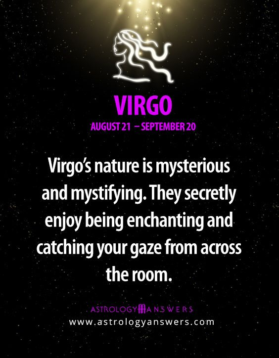 To learn more about #Virgo just click on the quote :)