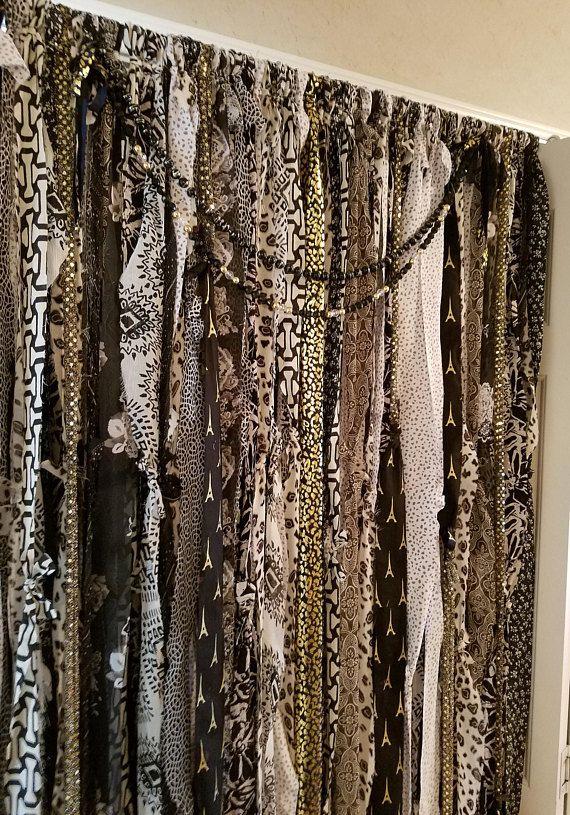 Boho Curtains Boho Door Curtains Gypsy Curtains Rag Curtains Bo Home Boho Curtains Gypsy