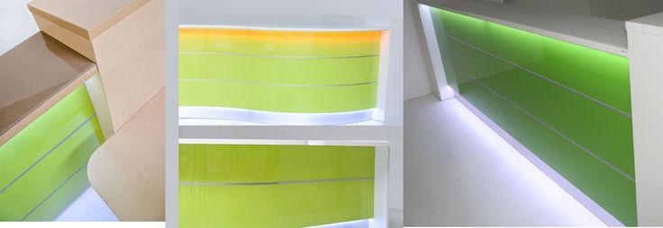 Green Valde # reception desks