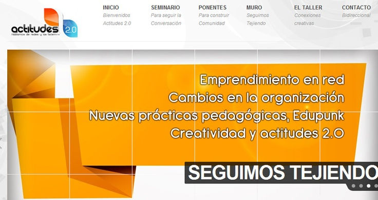Seminario Iberoamericano Actitudes.  WebSite.  http://actitudes20.com