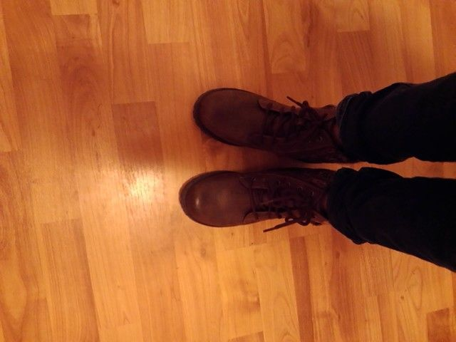 My new boots from Payless! Soooo cute and cumfy!!