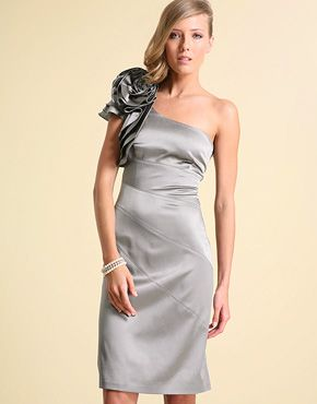 One shoulder prom dresses and prom on pinterest