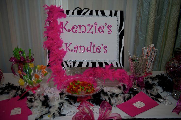Mackenzie Ziegler at her 8th Birthday Party [2012]