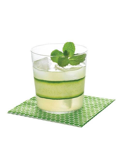 Serve the ultimate country-club libation: gimlets. Swap out vodka and Rose's lime juice for cucumber gin, fresh lime, and simple syrup tinged with mint, and then serve with tea sandwiches. Get the Cucumber-Mint Gimlet Recipe