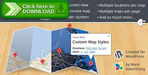 [ThemeForest]Free nulled download Responsive Google Maps from http://zippyfile.download/f.php?id=52508 Tags: ecommerce, fullscreen map, google map, google map plugin, google maps, map, maps, panoramio, responsive google map, responsive map, weather map, wordpress google map, wordpress google maps, wordpress map, wordpress map plugin, wordpress maps