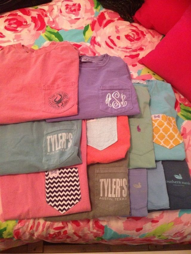 preppy tshirts: I want to buy some comfort colors, Lauren James, Southern Marsh, Southern Tide, Frat Collection, Southern Shirt Company, Ivory Ella, Southern Fried Cotton, Vineyard Vines, Ralph Lauren, Tommy, and Marley Lilly tshirts in M-L!