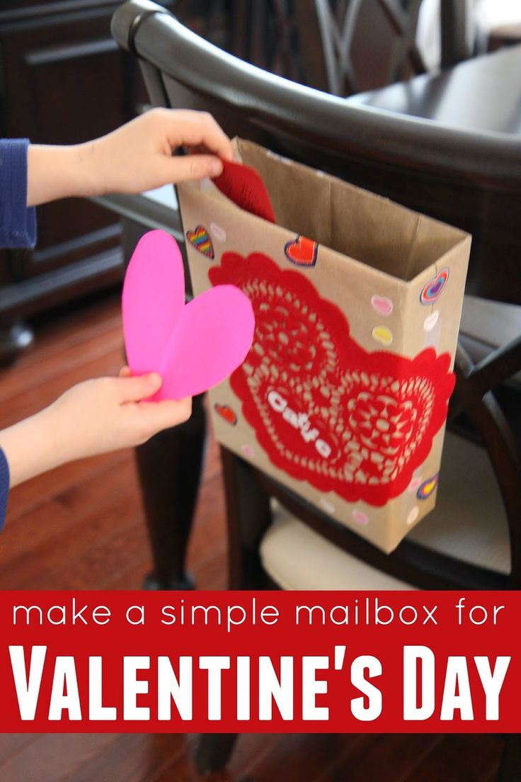 17 Best images about Preschool Valentines Day Crafts – Valentine Card Holders for Preschoolers