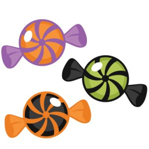 Halloween Peppermints SVG cut files halloween candy cut files for cutting machines free scal files
