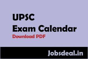 UPSC Exam Calendar 2017   W ho does not know UPSC? We mean to say that everyone knows it nowadays ...