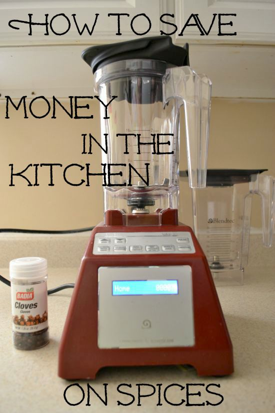 How to save money in the Kitchen on Spices