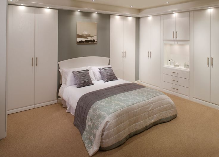 Angelo White Bedroom | Fitted Bedrooms from Betta Living