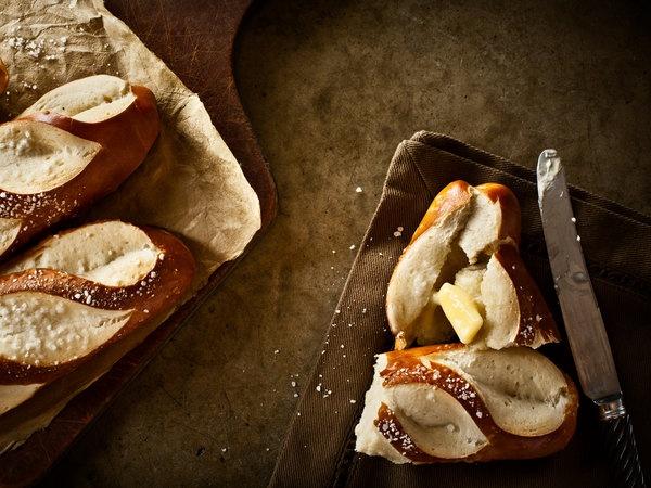 pretzel bread / kevin clark