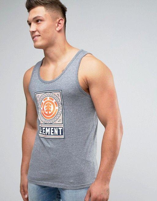 Element | Майка с логотипом в виде дерева Element