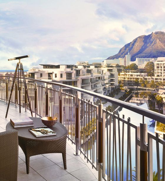 Grab a hold of the telescope on the balcony of a mountain room & explore Table Mountain. CapeTown