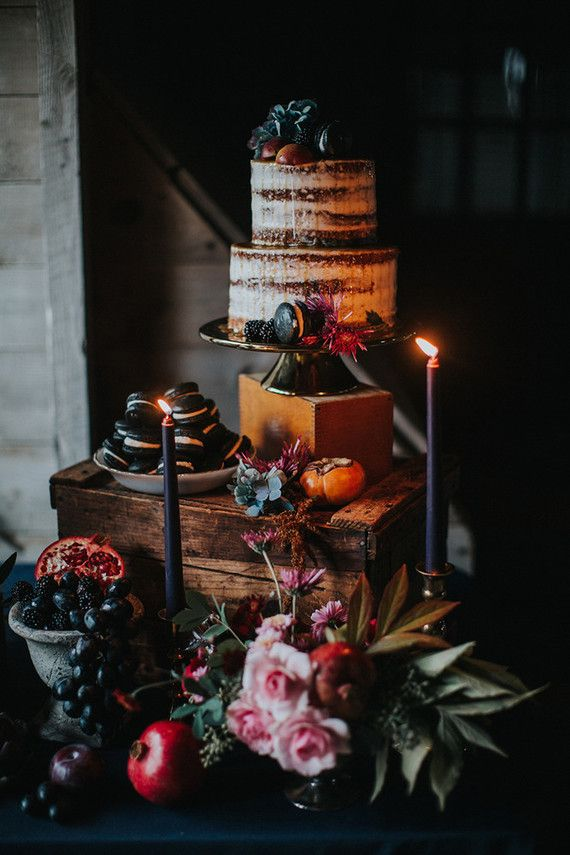 Rustic dessert table | Wedding & Party Ideas | 100 Layer Cake