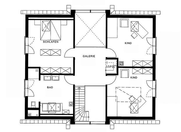 89 best images about living floor plan on pinterest for Modernes haus plan