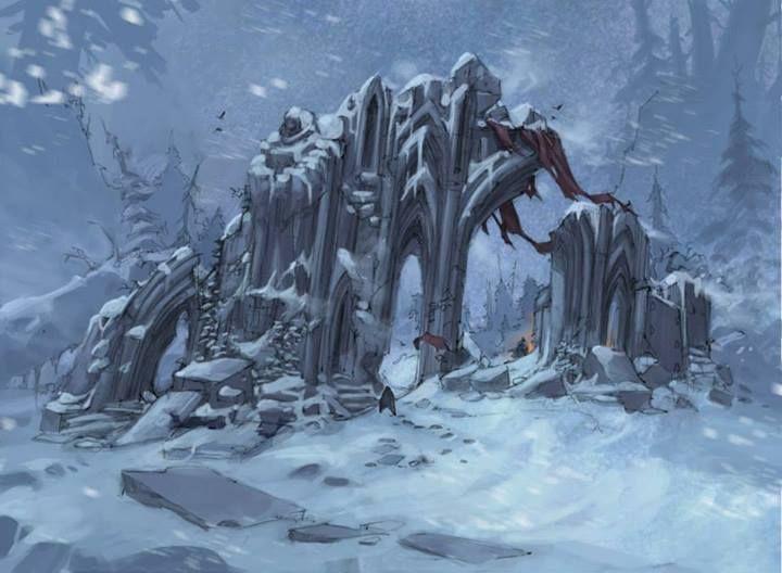 Unused Warhammer 40K MMO Stuff by Joe Madureira