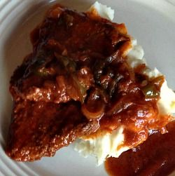 Cubed Steak Portuguese style is an Old World recipe where an ordinary protein transforms into a