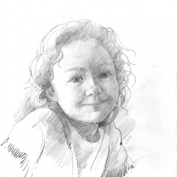 Anthony Morris 'A Drawing Of A Girl'