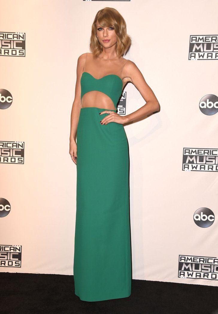 Pin for Later: Les Plus Beaux Looks des American Music Awards, C'est Par Ici Taylor Swift