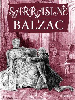 Sarrasine de Honoré de Balzac ! Télécharger en EPUB, aussi disponible pour Kindle et en PDF