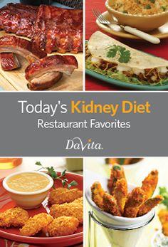 Today's Kidney Diet - Restaurant Favorites Cookbook