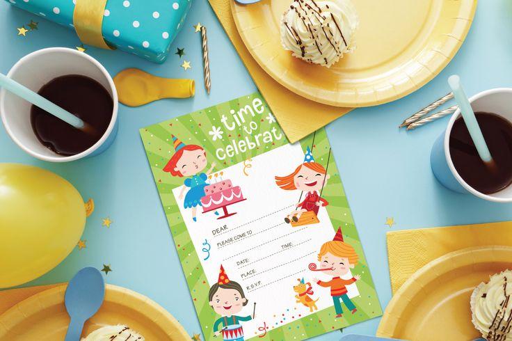 The Holiday Party Bundle by TheHungryJPEG | TheHungryJPEG.com