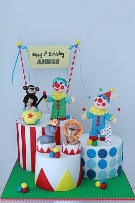 1000 Images About Cakes Circus On Pinterest Cakes