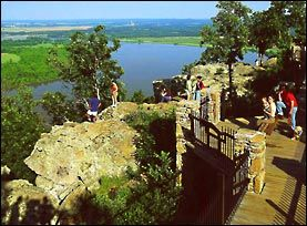 Petit Jean State Park. Petit Jean Mountain, Morrilton, Arkansas. Lots of hiking to do. Waterfalls, overlooks, and lots of beautiful places.Hiking Trail