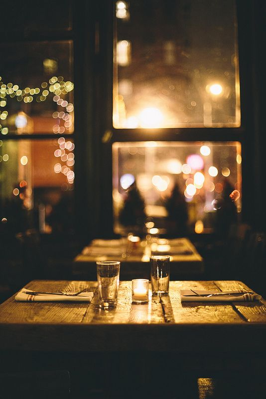 An Intimate Romantic Evening Setting At A Lovely Restaurant I Just Love It
