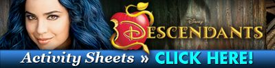 Disney's Descendants DVD and Dark Side Velvet Cupcakes Recipe