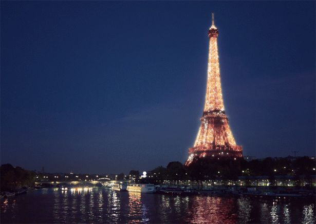 The photo I never got when I was in Paris.....my camera ran out of battery!