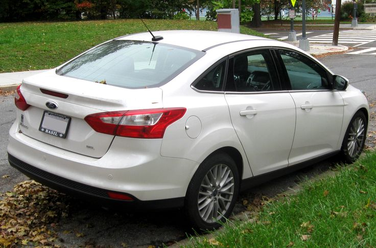2012 – 2014 Ford Focus Sedan (Rear) (US)