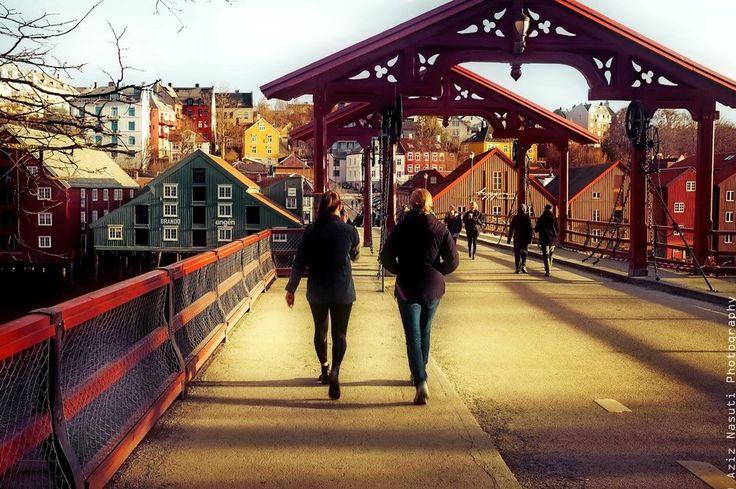 Gamlebybro, Trondheim Old bridge by Aziz Nasuti on 500px