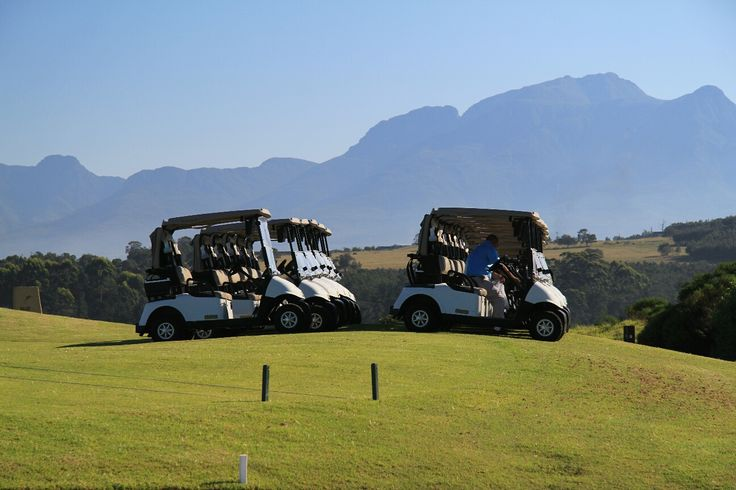 Oubaai golf course Western Cape South Africa