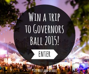Getaway to NYC and win a trip to Governors Ball 2015! Prize includes: airfare for 2, 2 night stay at YOTEL NYC, tickets to the Governors Ball on June 5th and more. Enter now: tastingtable.com/govball2015