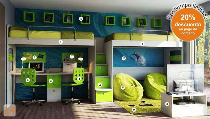 25 best ideas about camas marineras on pinterest - Camas con escritorio ...