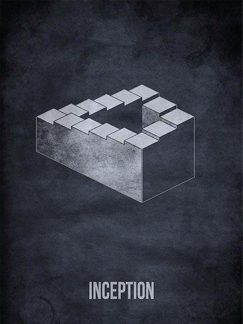 Des affiches de films revisitées en version minimaliste.