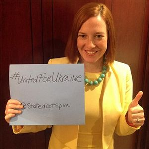 'We got this!' So, how's that Russia 'promise of hashtag' deal going, State Dept.'s Jen Psaki? [photo]