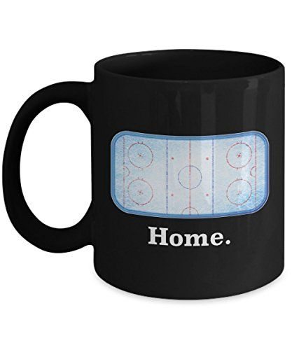 Amazing Home Ice Hockey Rink Funny Mug Gift for player RC Rex Books https