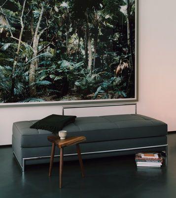 Méridienne Day Bed / L 190 cm Tissu gris - ClassiCon