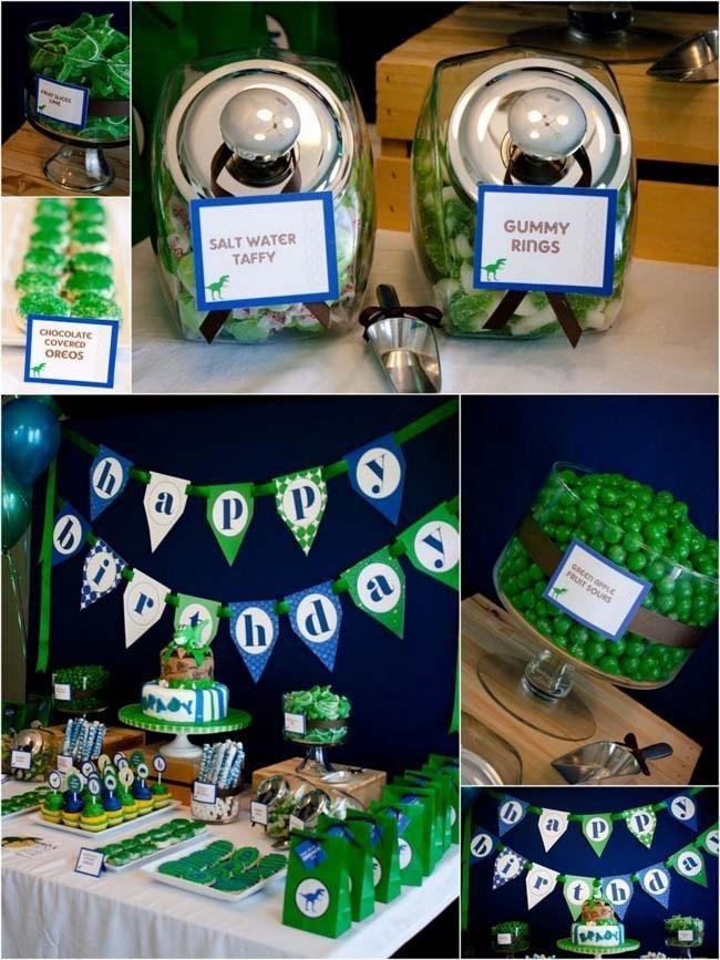 Parti-fikirler-için-erkek-dinozor-doğum günü