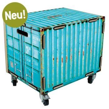 Werkhaus Shop - Rollbox - Container türkis