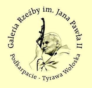 Tyrawa Wołoska - Wieś znana głownie z Plenerowej Galerii Rzeżby im . Jana Pawła II