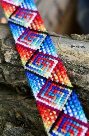 Photo of #69611 by Byhelen - friendship-bracelets.net